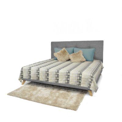Set de Dormitorio King Verona Gris