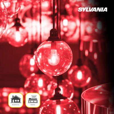 Bombillo Led Toledo Filamento A60 4.5w E27 Color Luz Roja