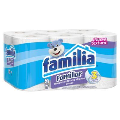Papel Higienico Familiar x12 Rollos 28 Metros Fsc-M