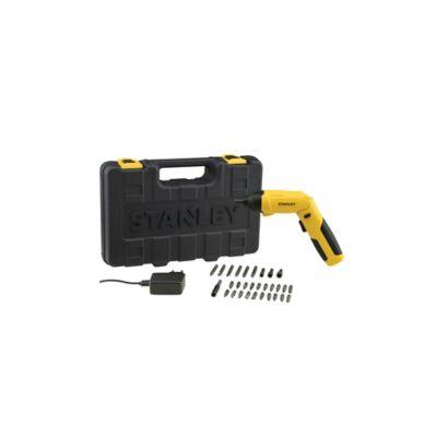Kit Atornillador 4V 1.5Ah I-L 30Pzas Stanley