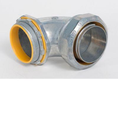 Conector Coraza Liquid Tight Curvo A 90 G 1-pulg