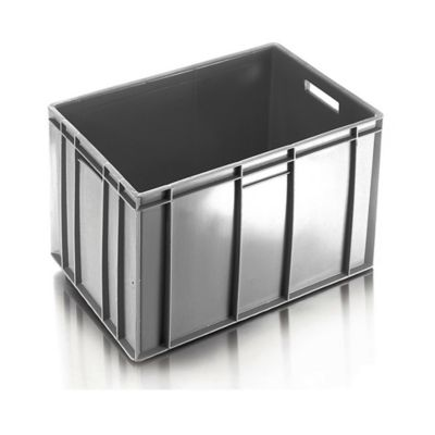 Caja Transparente Fondo Cerrado Pared Cerrada 60x40x41 cm