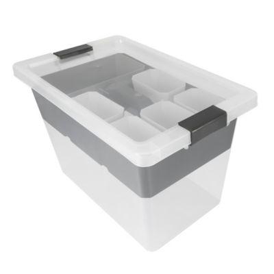 Caja Organizadora Multibox 25 Litros Natural