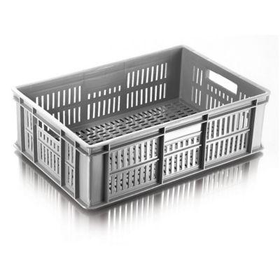 Caja con Fondo y Pared Lineal 60x40x18.5 Gris
