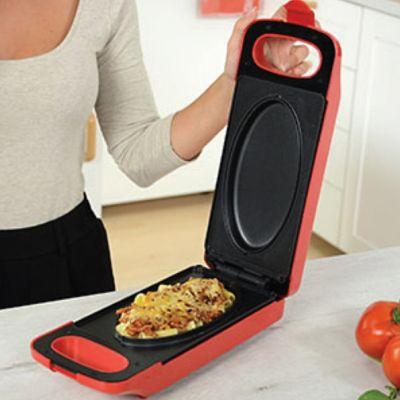 Express Cooker Rojo con Sistema Antiadherente en sus 2 Placas