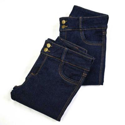 Set x2 Jeans para Dama Strech Talla 12 Azul