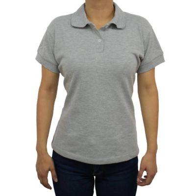 Camiseta para Dama Tipo Polo S Gris Jasped