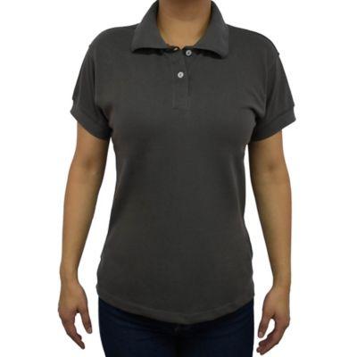 Camiseta para Dama Tipo Polo L Gris Oscuro