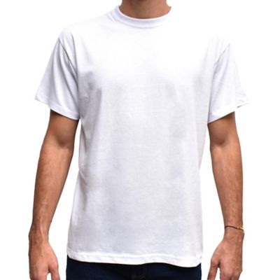 Camiseta para Hombre Tshirt 100% Algodón M Blanco
