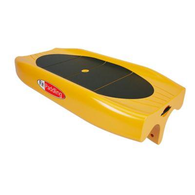 Tabla y Remo para Fitness Sobre el Agua Amarillo