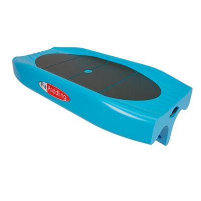 Tabla y Remo para Fitness Sobre el Agua Azul Claro