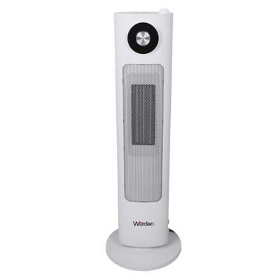 Calefactor con Humidificador de Torre Digital Blanco
