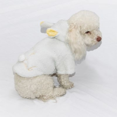 Buzo Axel para Perro Talla L Blanco