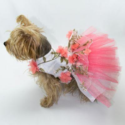Vestido Gaby para Perro Talla S Coral