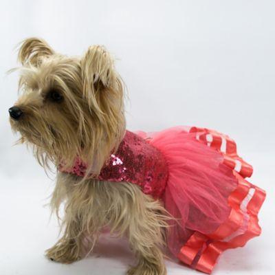 Vestido Lili para Perro Talla S Salmón