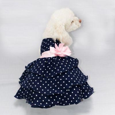Vestido Mia para Perro Talla XS Azul