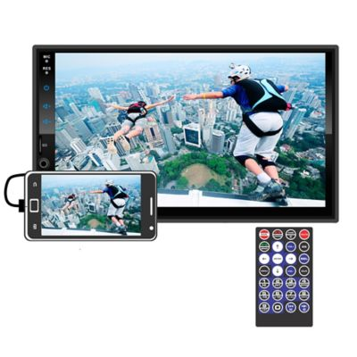 Radio Pantalla Capacitiva Bluetooth Mirrorlink