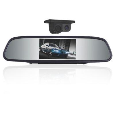 Espejo Retrovisor 4.3 Pulg. con Cámara y Sensor