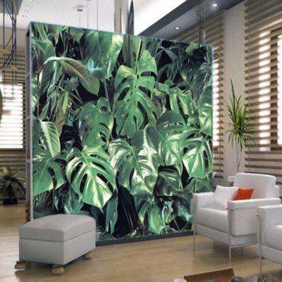 Foto Mural Hojas Verdes 368x254 cm