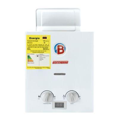Calentador 5.5 Litros Tiro Natural Paso a Gas Natural Blanco