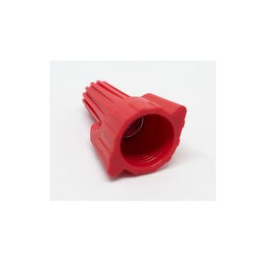 Conector Para Cable Rojo x100 und