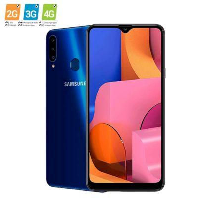 Celular A20S 32GB Triple Cámara Azul