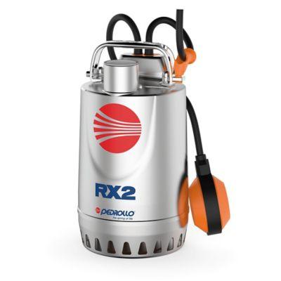 Electrobomba Sumergible 0.5 HP 110V Agua Limpia Rxm2