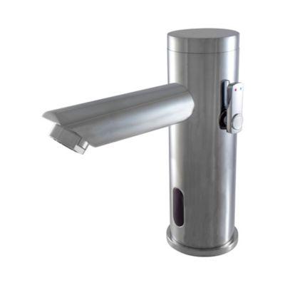 Grifería Lavamanos Con Sensor Con Mezclador Cromo