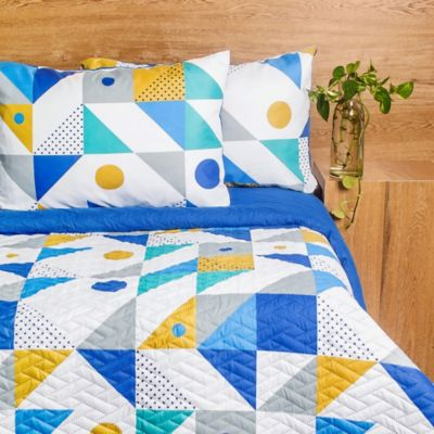 Comforter Doble Doble Faz Rubik Microfibra
