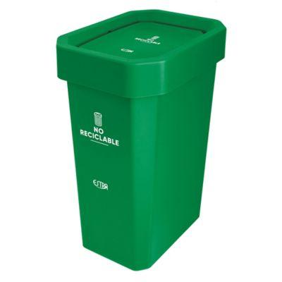 Caneca Estrabins Vaivén 53Lt No Reciclable Verde