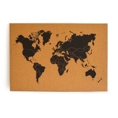 Cuadro Mapa de Corcho