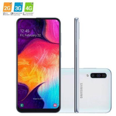 Celular Galaxy A50 128GB Blanco