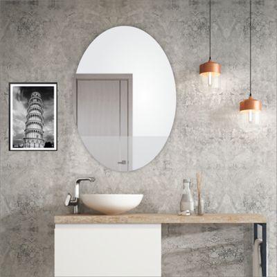 Espejo Sencillo Ovalado 61.8x80x3cm