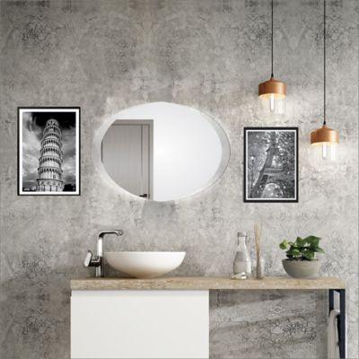 Espejo Sencillo Ovalado 70x50x3.4cm