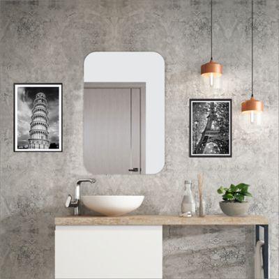 Espejo Sencillo Esquinas Redondeadas 60x60x3.4cm