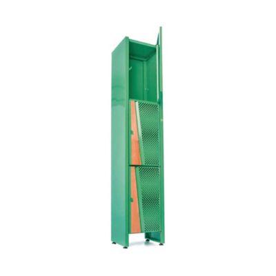 Locker Bajo 35x30x180 Roble/Verde