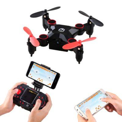 Mini Dron Plegable HS190 Negro