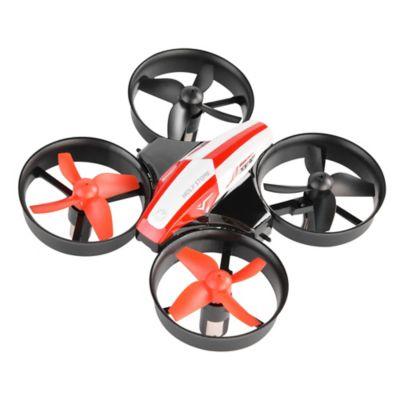 Mini Dron De Acrobacias HS210 Negro y Rojo