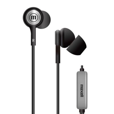 Audífonos Con Micrófono In-Tips Stereo Buds Negro