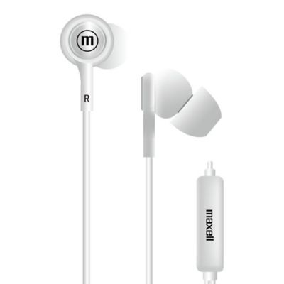 Audífonos Con Micrófono In-Tips Stereo Buds Blanco