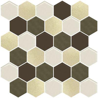 Mosaico Elegance 34x34cm Dorado