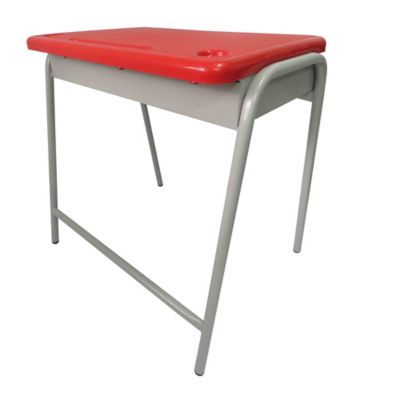 Pupitre Infantil Unipersonal 40x60x60 Rojo
