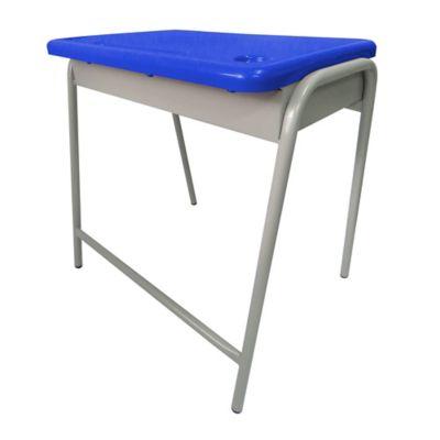 Pupitre Infantil Unipersonal 40x60x60 Azul Eléctrico