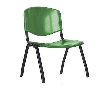 Silla Isósceles Junior Plástica 35.5x35x30.5 Verde