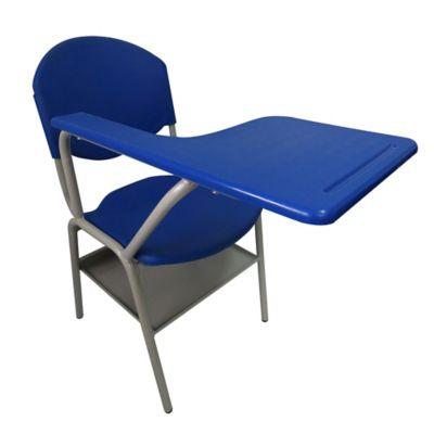 Pupitre Escolar con Porta Libros 40x40x80 Azul