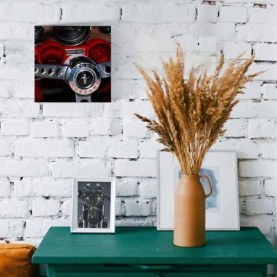 Cuadro Espejo Volante Ford 30x30 cm