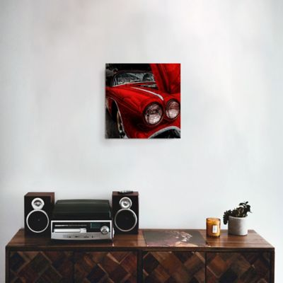 Cuadro Espejo Corvette 30x30 cm