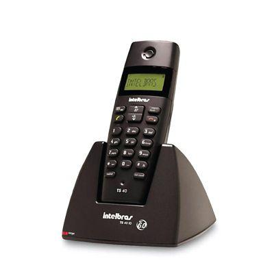 Teléfono Inalámbrico Digital Negro Caller Id