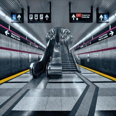 Fotomural Subway 368x254  cm