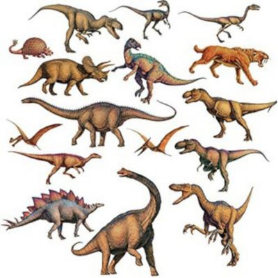 Sticker  Decorativo Dinosaurio
